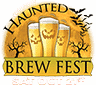 Haunted Brew Fest Sticky Logo